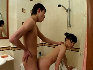 panties window young girls - (Real Homo Glamour Footage)